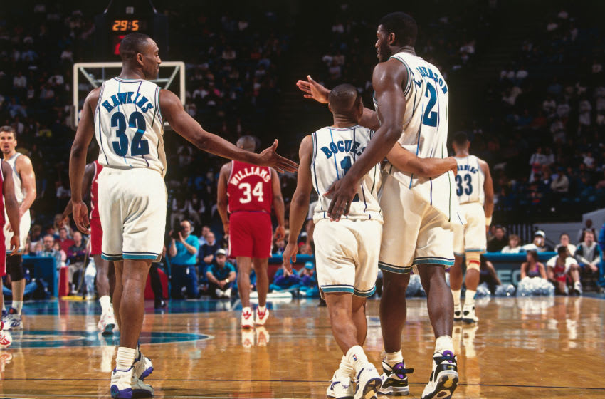 CHARLOTTE, N.C. - 1994: Larry Johnson