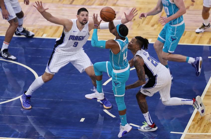 Charlotte Hornets Devonte' Graham. (Photo by Alex Menendez/Getty Images)