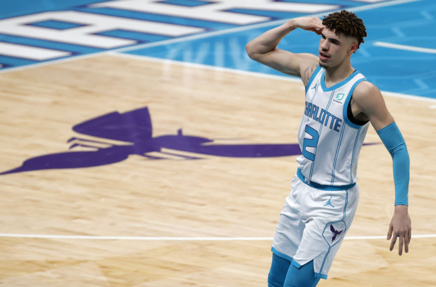 Charlotte Hornets LaMelo Ball. (Photo by Jared C. Tilton/Getty Images)