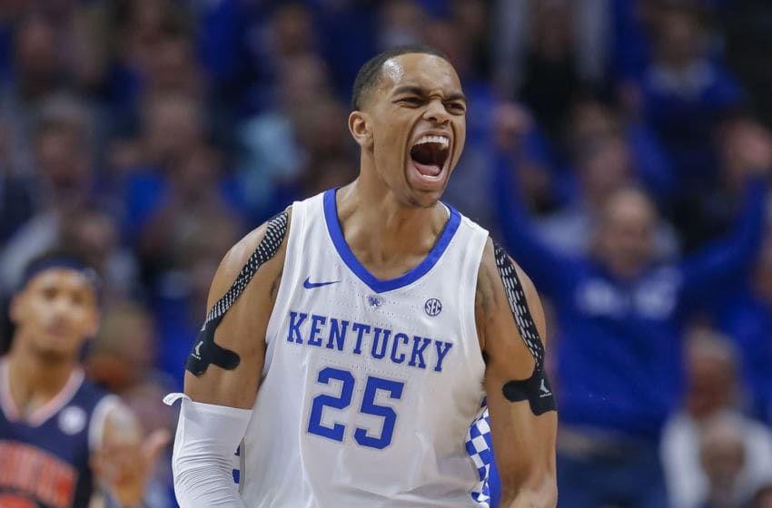 Charlotte Hornets draft prospect P.J. Washington. (Photo by Michael Hickey/Getty Images)