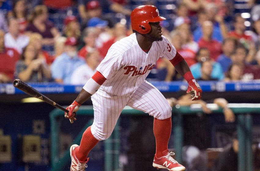 The Phillies could sell high on Odubel Herrera. Bill Streicher-USA TODAY Sports