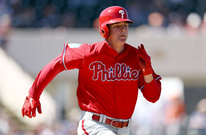 Mickey Moniak of the Philadelphia Phillies (Photo by Dylan Buell/Getty Images)