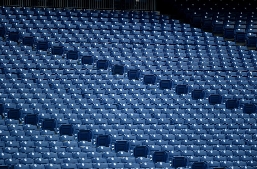 Empty seats at Citizens Bank Park (Photo by G Fiume/Getty Images)