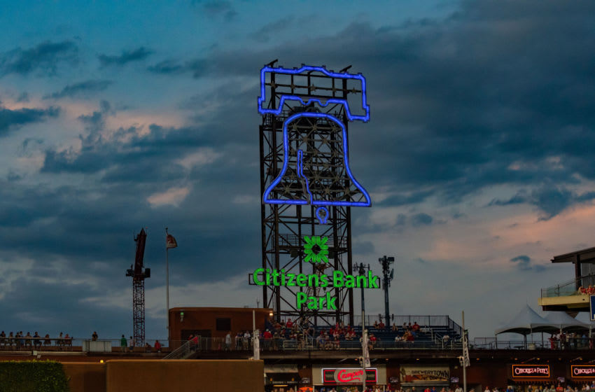 PHILADELPHIA, PA - AUGUST 31: General stadium view during the Major League Baseball game between the New York Mets and Philadelphia Phillies on August 31, 2019 at Citizens Bank Park in Philadelphia, PA(Photo by John Jones/Icon Sportswire via Getty Images)