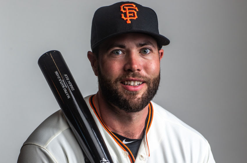 Darin Ruf of the San Francisco Giants (Photo by Rob Tringali/Getty Images)