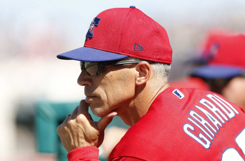 Joe Girardi, Philadelphia Phillies (Photo by Michael Reaves/Getty Images)
