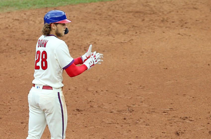 Alec Bohm #28 of the Philadelphia Phillies (Photo by Rich Schultz/Getty Images)