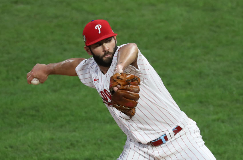 Jake Arrieta, formerly of the Philadelphia Phillies (Photo by Hunter Martin/Getty Images)