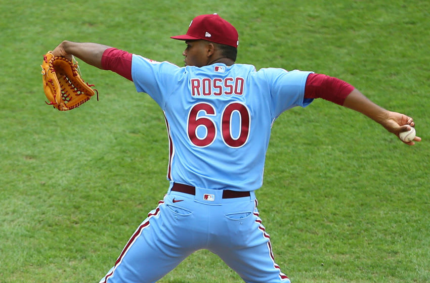 Ramon Rosso #60 of the Philadelphia Phillies (Photo by Rich Schultz/Getty Images)