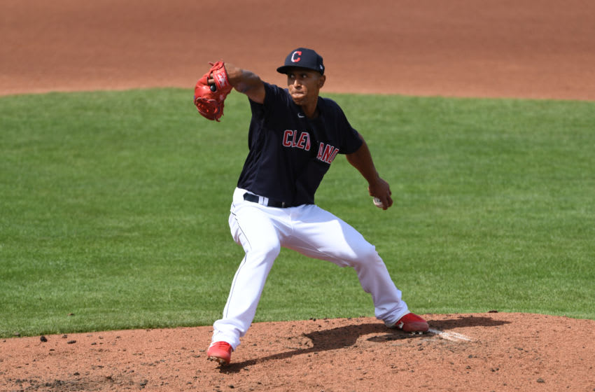 Anthony Gose #89 of the Cleveland Indians (Photo by Norm Hall/Getty Images)