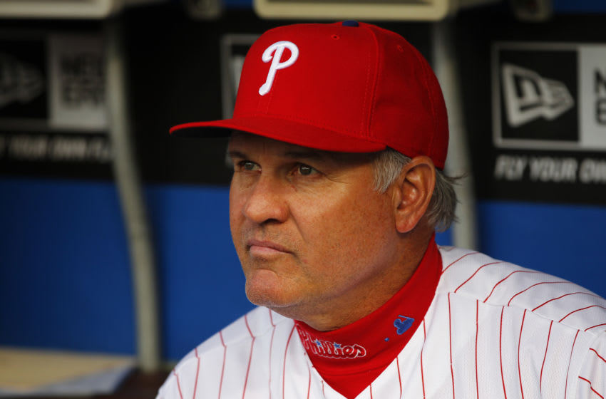 Manager Ryne Sandberg #23 of the Philadelphia Phillies (Photo by Rich Schultz/Getty Images)