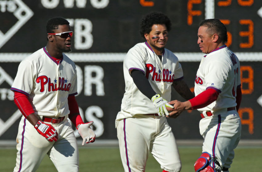 Freddy Galvis, Philadelphia Phillies (Photo by Hunter Martin/Getty Images)