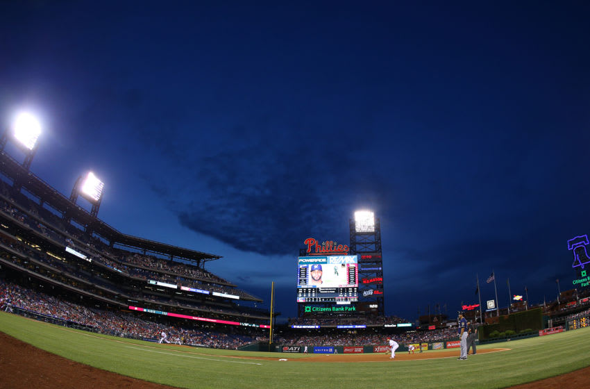 PHILADELPHIA, PA - JUNE 02: General scene of the Milwaukee Brewers against the Philadelphia Phillies at Citizens Bank Park on June 2, 2016 in Philadelphia, Pennsylvania. (Photo by Rich Schultz/Getty Images)