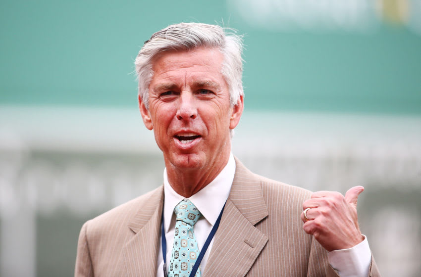 Dave Dombrowski, formerly of the Boston Red Sox (Photo by Adam Glanzman/Getty Images)
