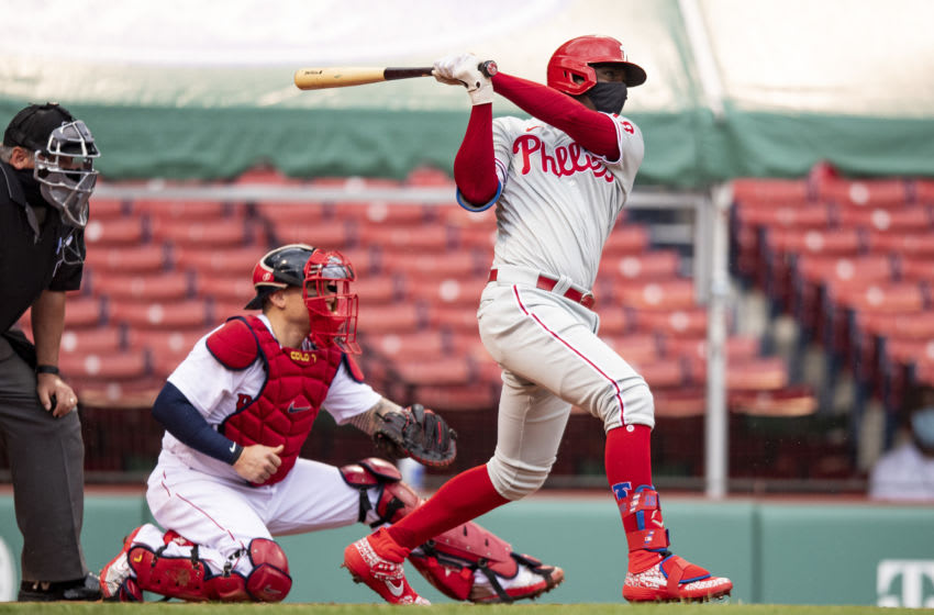 Didi Gregorius #3 of the Philadelphia Phillies (Photo by Billie Weiss/Boston Red Sox/Getty Images)