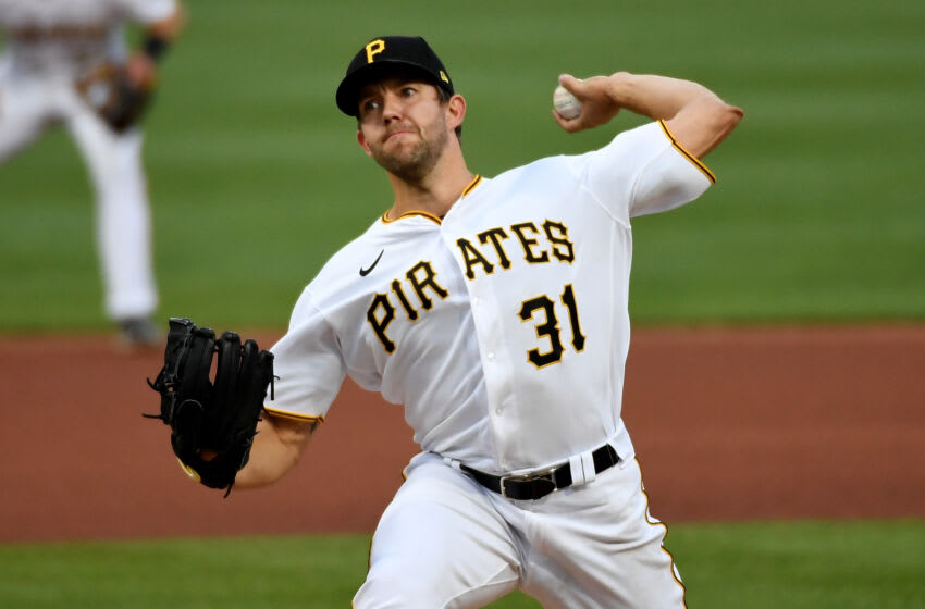 Tyler Anderson #31, formerly of the Pittsburgh Pirates (Photo by Justin Berl/Getty Images)