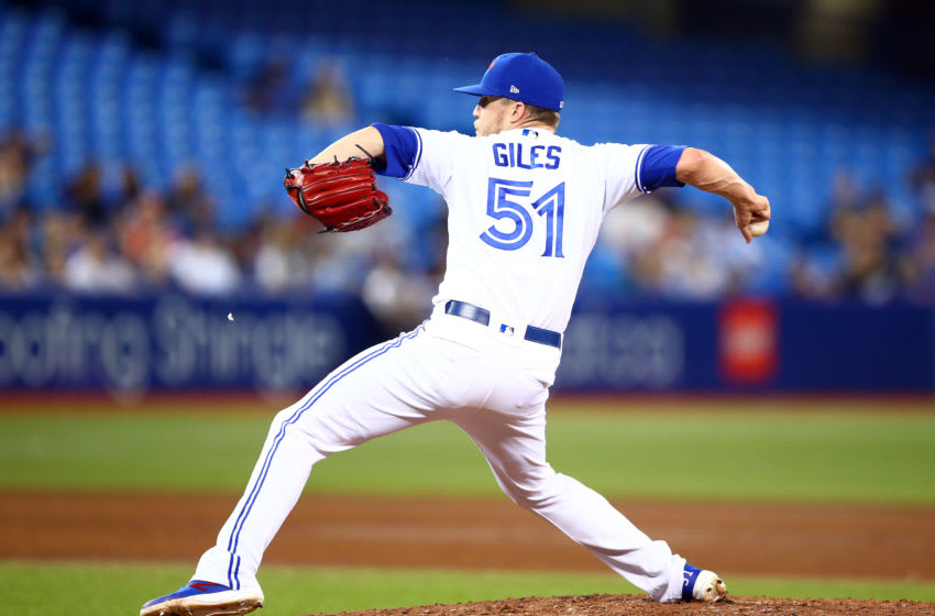 Ken Giles #51 of the Toronto Blue Jays (Photo by Vaughn Ridley/Getty Images)