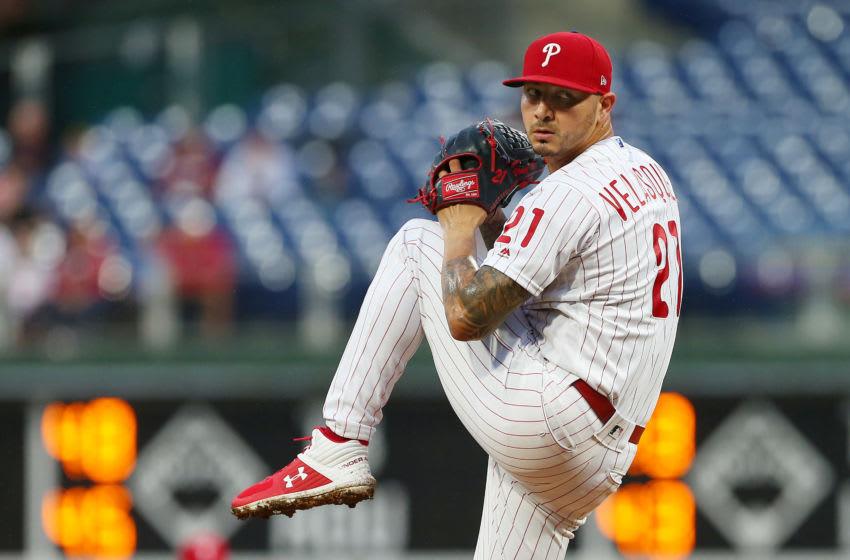 Vince Velasquez, Philadelphia Phillies (Photo by Rich Schultz/Getty Images)