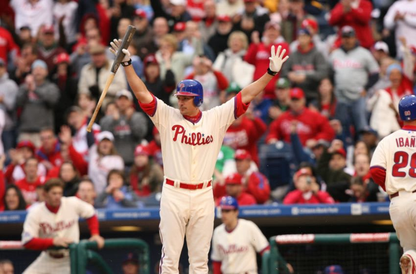 Chris Coste, Philadelphia Phillies (Photo by Hunter Martin/Getty Images)