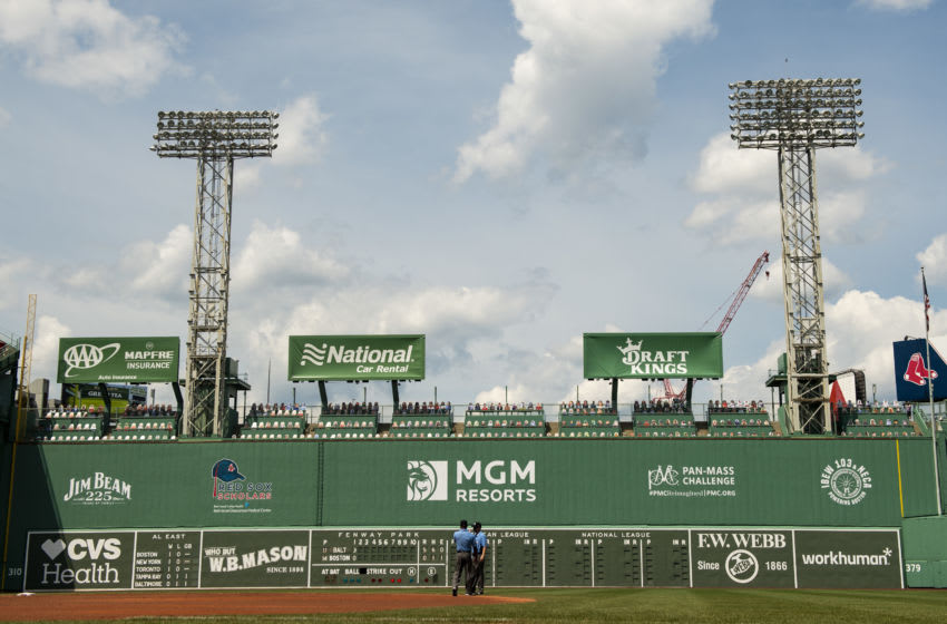 Fenway Park in Boston, Massachusetts. (Photo by Billie Weiss/Boston Red Sox/Getty Images)