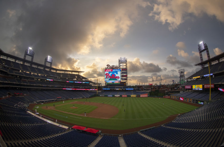 A general view of Citizens Bank Park (Photo by Mitchell Leff/Getty Images)