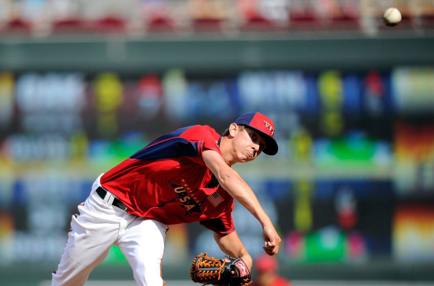 Baltimore Orioles Pitcher Hunter Harvey (Photo by Hannah Foslien/Getty Images)