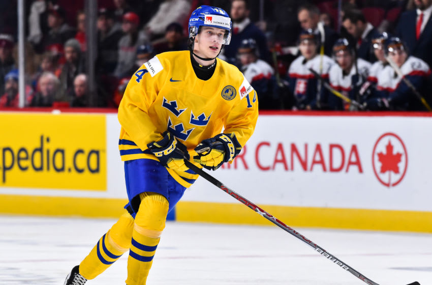MONTREAL, QC - JANUARY 02: Elias Pettersson