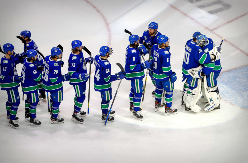 Vancouver Canucks (Mandatory Credit: Perry Nelson-USA TODAY Sports)