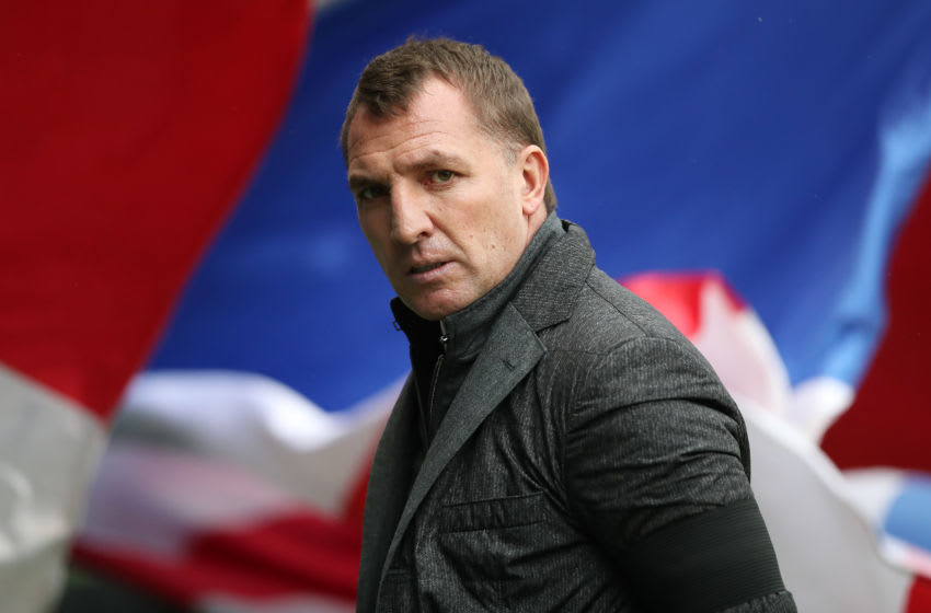 GLASGOW, SCOTLAND - DECEMBER 31: Celtic manager Brendan Rogers is seen during the Rangers v Celtic Ladbrokes Scottish Premiership match at Ibrox Stadium on December 31, 2016 in Glasgow, Scotland. (Photo by Ian MacNicol/Getty Images)