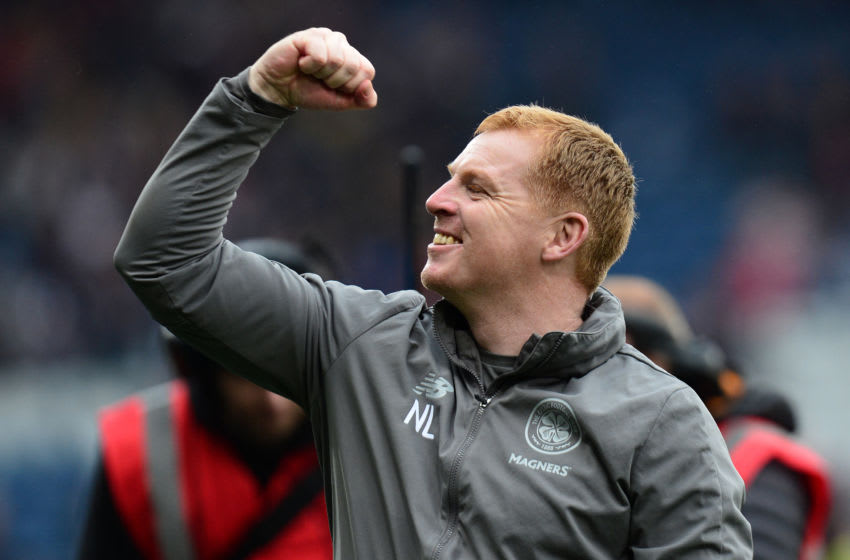 Neil Lennon, Celtic. (Photo by Mark Runnacles/Getty Images)
