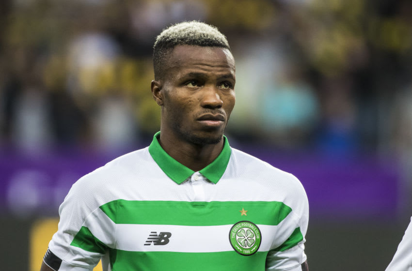 SOLNA, SWEDEN - AUGUST 29: Boli Bolingoli-Mbombo of Celtic FC during a UEFA Europa League qualification match between AIK and Celtic FC at Friends arena on August 29, 2019 in Solna, Sweden. (Photo by Michael Campanella/Getty Images)