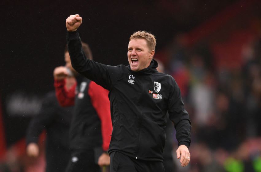 Eddie Howe, AFC Bournemouth. (Photo by Harry Trump/Getty Images)