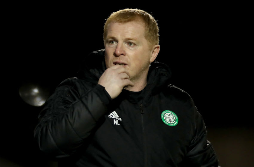 PAISLEY, SCOTLAND - SEPTEMBER 16: Neil Lennon, Manager of Celtic looks on during the Ladbrokes Scottish Premiership match between St. Mirren and Celtic at The Simple Digital Arena on September 16, 2020 in Paisley, Scotland. (Photo by Ian MacNicol/Getty Images)