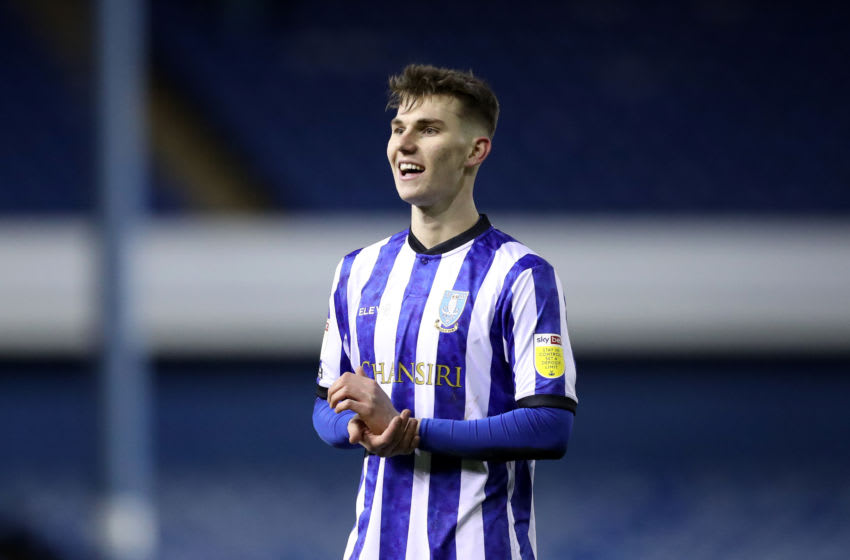 Liam Shaw, Sheffield Wednesday. (Photo by George Wood/Getty Images)