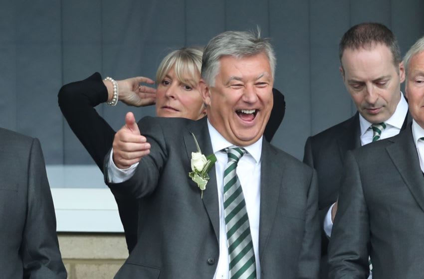 Peter Lawwell, Celtic. (Photo by Ian MacNicol/Getty Images)