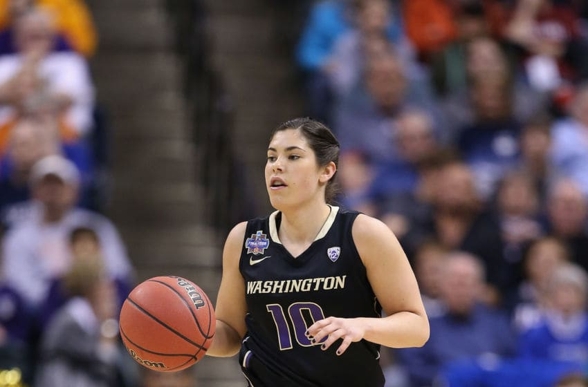 INDIANAPOLIS, IN - APRIL 03: Kelsey Plum