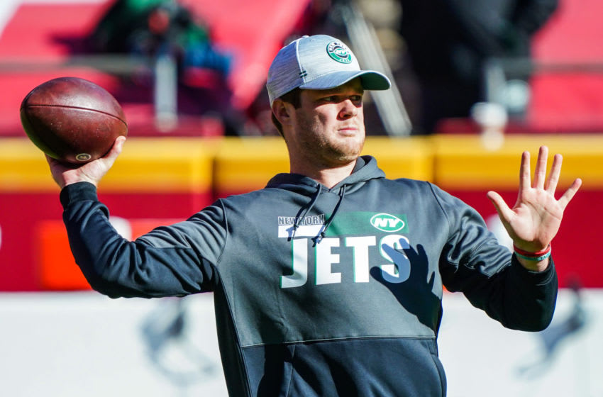 NY Jets, Sam Darnold Mandatory Credit: Jay Biggerstaff-USA TODAY Sports