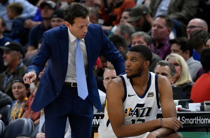 Tony Bradley, Utah Jazz. (Photo by Gene Sweeney Jr./Getty Images)