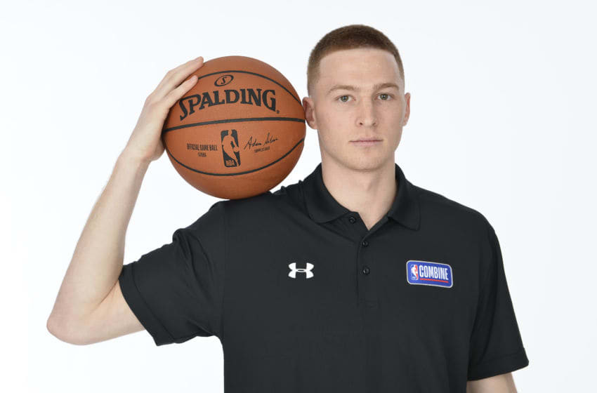 CHICAGO, IL - MAY 14: Dylan Windler poses for a portrait at the 2019 NBA Draft Combine on May 14, 2019 at the Chicago Hilton in Chicago, Illinois. Copyright 2019 NBAE (Photo by David Dow/NBAE via Getty Images)