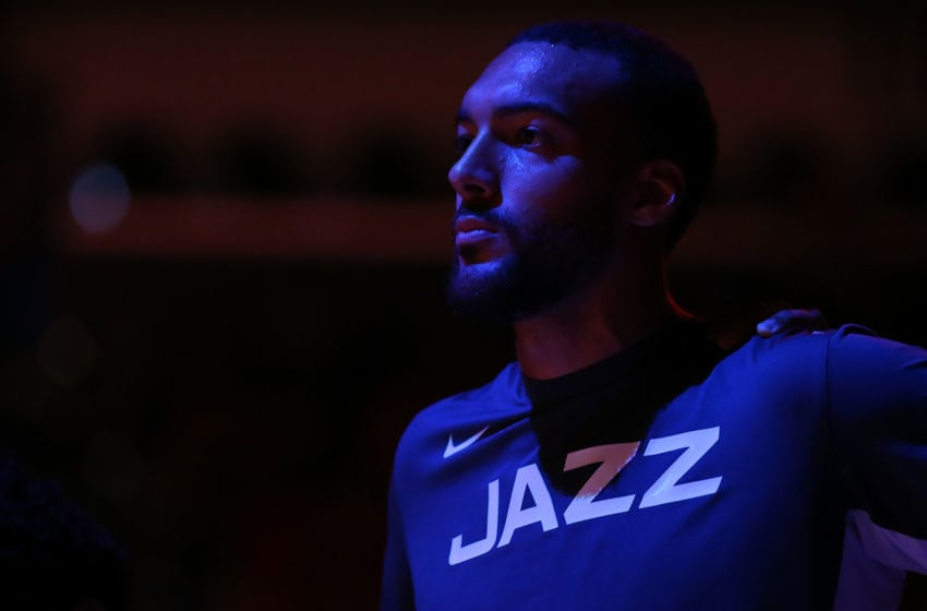 Rudy Gobert, Utah Jazz. (Photo by Jonathan Bachman/Getty Images)