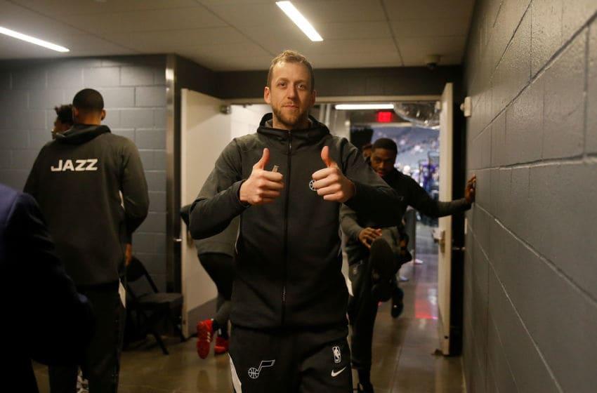 Joe Ingles, Utah Jazz. (Photo by Lachlan Cunningham/Getty Images)