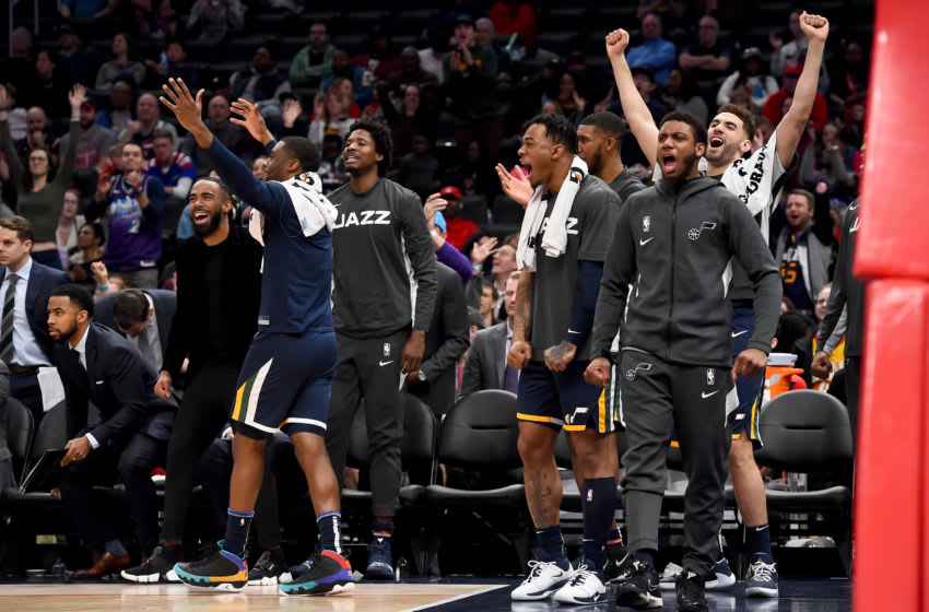 Utah Jazz. (Photo by Will Newton/Getty Images)