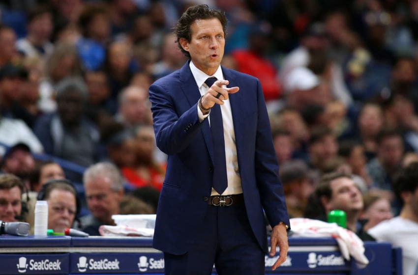 Quin Snyder, Utah Jazz. (Photo by Jonathan Bachman/Getty Images)