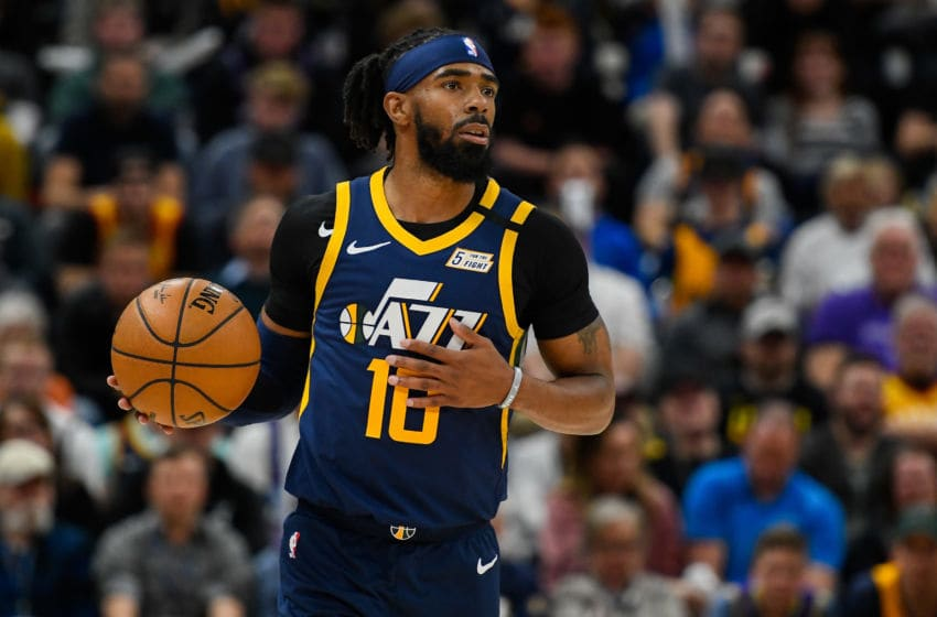 Mike Conley, Utah Jazz. (Photo by Alex Goodlett/Getty Images)