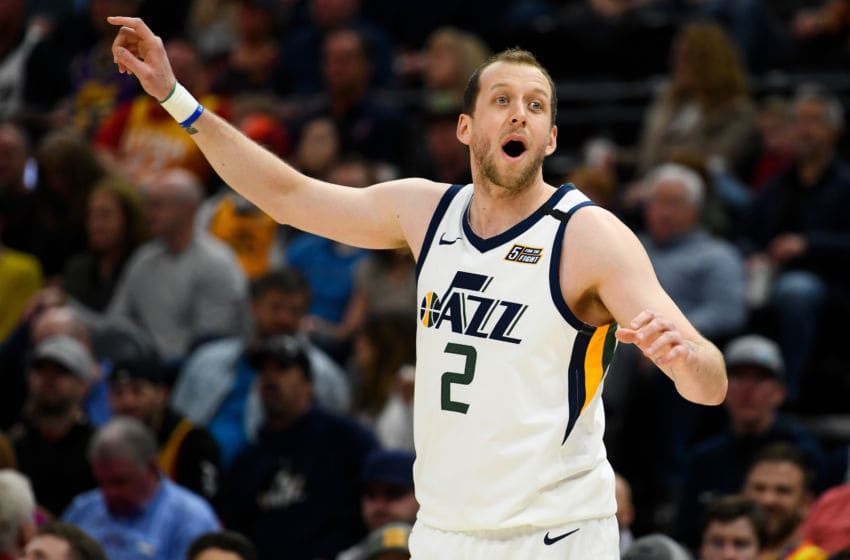 Joe Ingles, Utah Jazz. (Photo by Alex Goodlett/Getty Images)