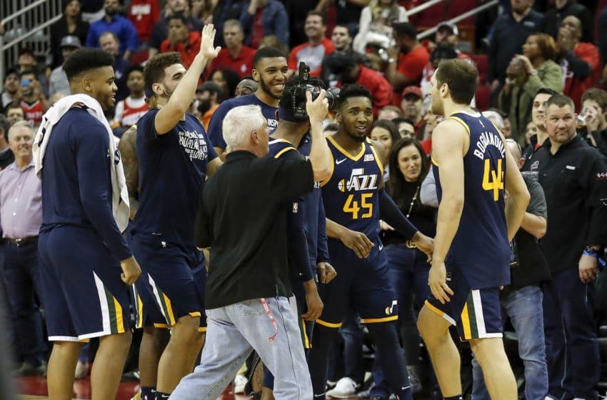 Bojan Bogdanovic, Utah Jazz. (Photo by Tim Warner/Getty Images)