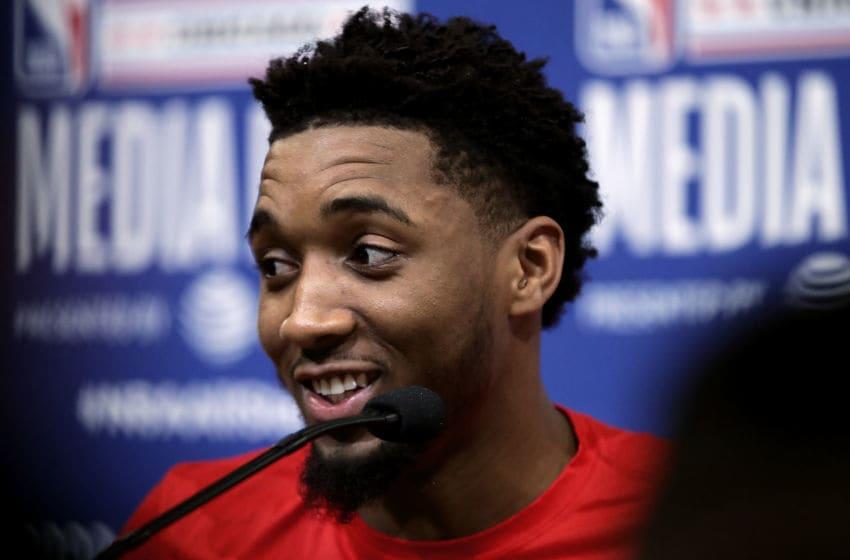 Donovan Mitchell, Utah Jazz. (Photo by Jonathan Daniel/Getty Images)