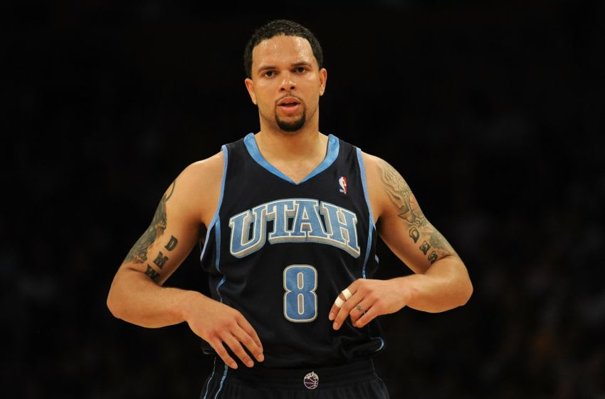 Deron Williams, former Utah Jazz guard. (Photo by Harry How/Getty Images)