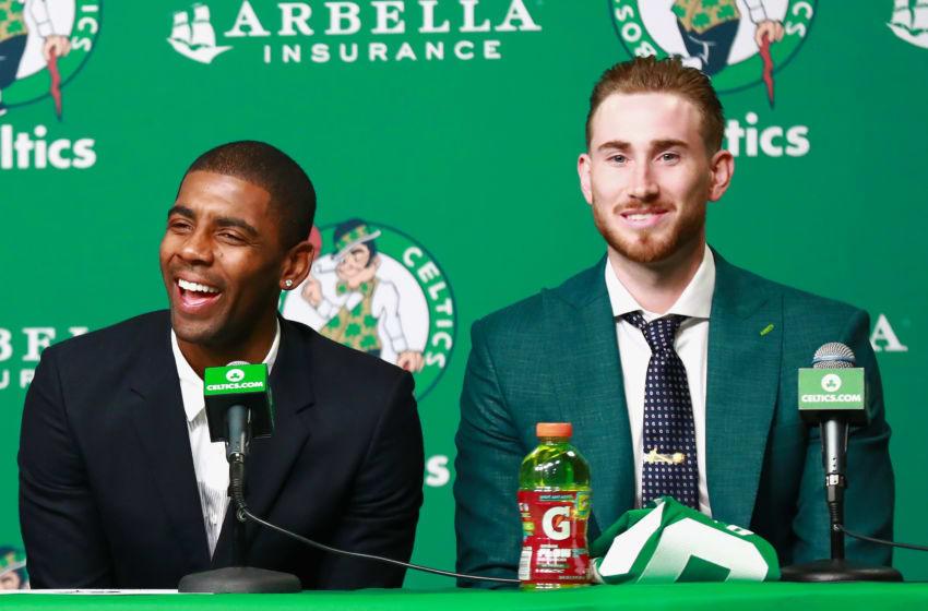 BOSTON, MA - SEPTEMBER 01: Kyrie Irving (Photo by Omar Rawlings/Getty Images)