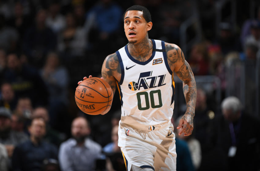 Jordan Clarkson, Utah Jazz. (Photo by Garrett Ellwood/NBAE via Getty Images)